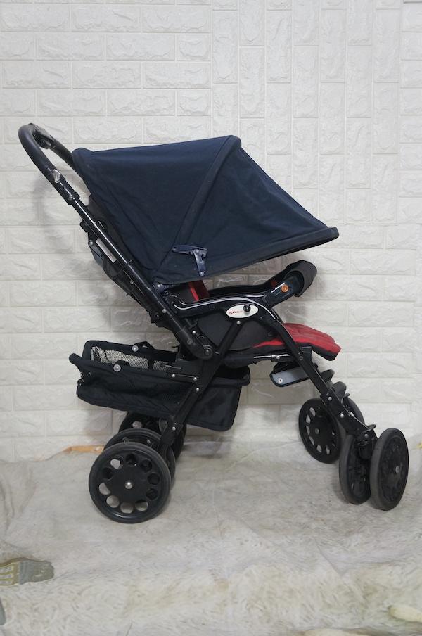 Xe đẩy em bé Nhật Aprica đã qua sử dụng 3