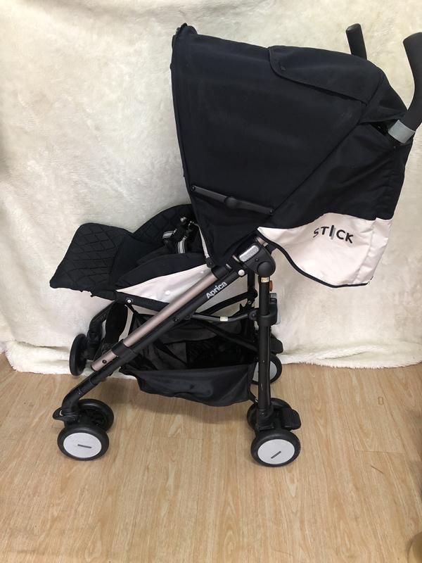 Xe đẩy em bé Aprica Stick Flat thanh lý 5