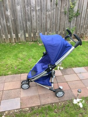 Review xe đẩy Quinny Zapp Xtra 3