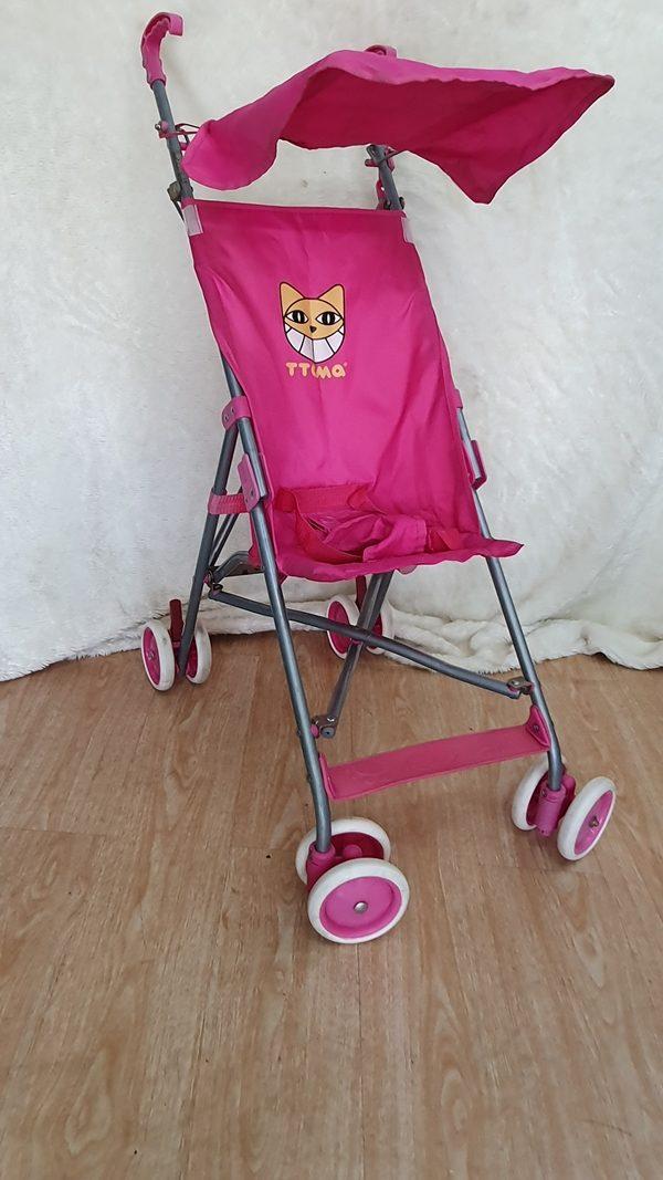 Xe đẩy du lịch màu hồng dễ thương 1