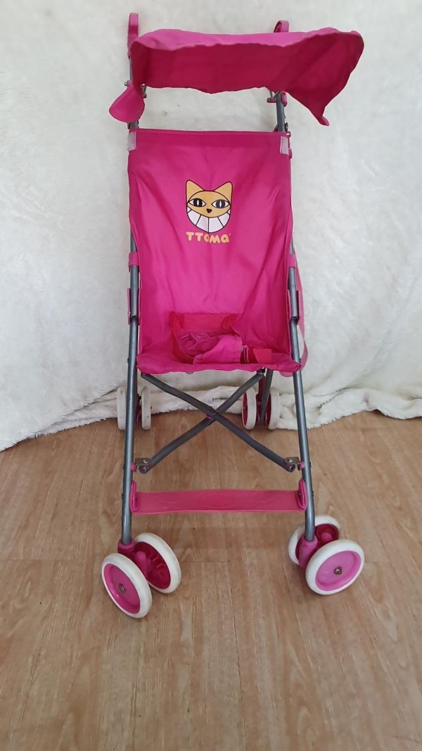 Xe đẩy du lịch màu hồng dễ thương 3