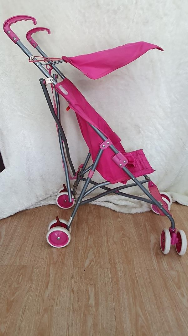 Xe đẩy du lịch màu hồng dễ thương 5
