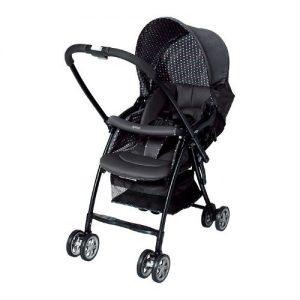 Xe đẩy trẻ em 2 chiều Aprica Karoon Black 92551 (DH) (đen)