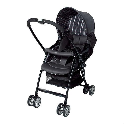 Xe đẩy trẻ em 2 chiều Aprica Karoon Black 92551 (DH) (đen) 1