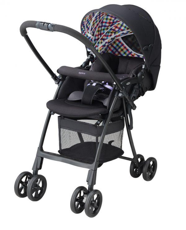 Xe đẩy trẻ em Aprica Karoon Plus HS Black 92567 1