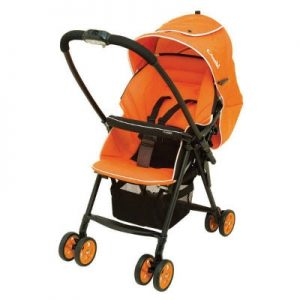 Xe đẩy Combi Well Comfort 113539 màu cam