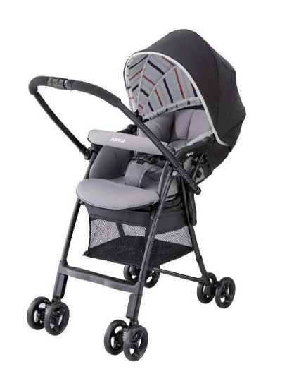 Xe đẩy trẻ em Aprica Karoon Air màu đen 1