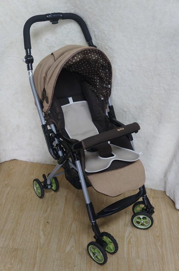 Xe đẩy em bé Aprica Biscuit Socola thanh lý 6