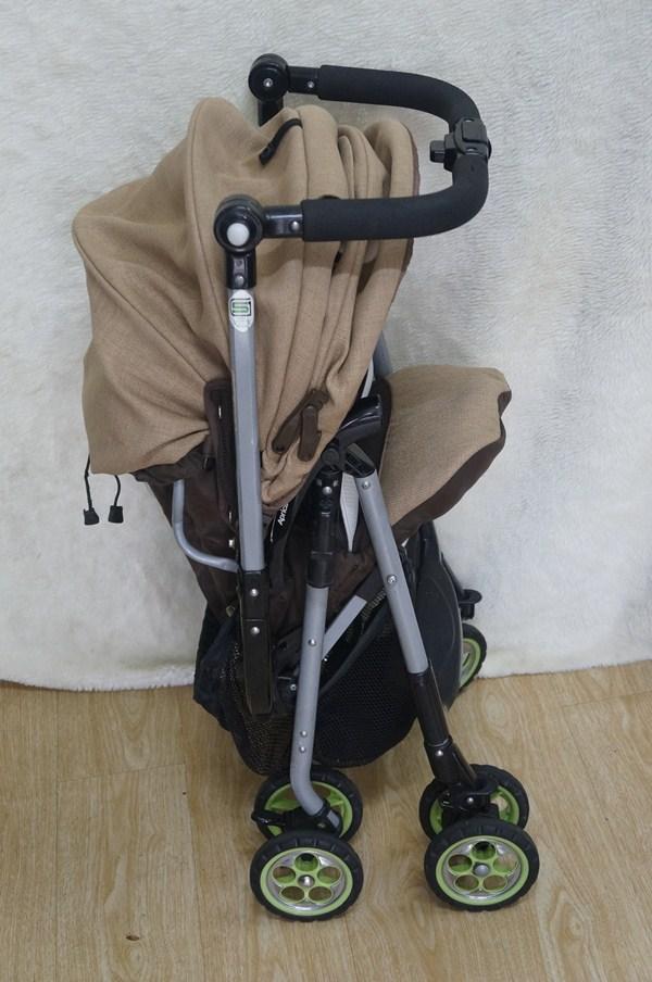 Xe đẩy em bé Aprica Biscuit Socola thanh lý 3