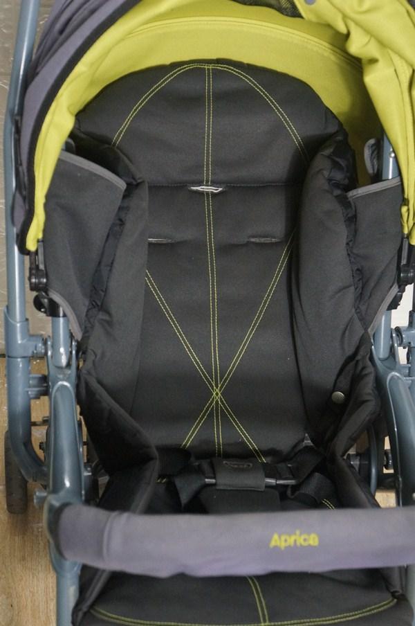 Thanh lý xe đẩy Aprica 2 chiều nhẹ 3