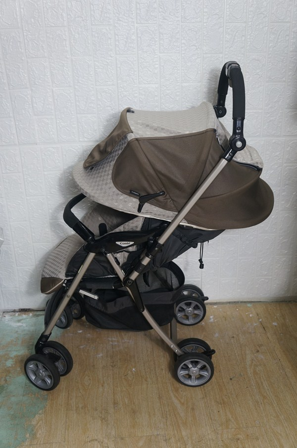 Xe đẩy trẻ em Combi Grandpaseo thanh lý 8