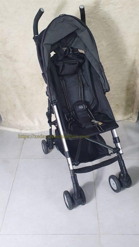 Xe đẩy em bé Aprica Stick thanh lý màu đen đẹp 4