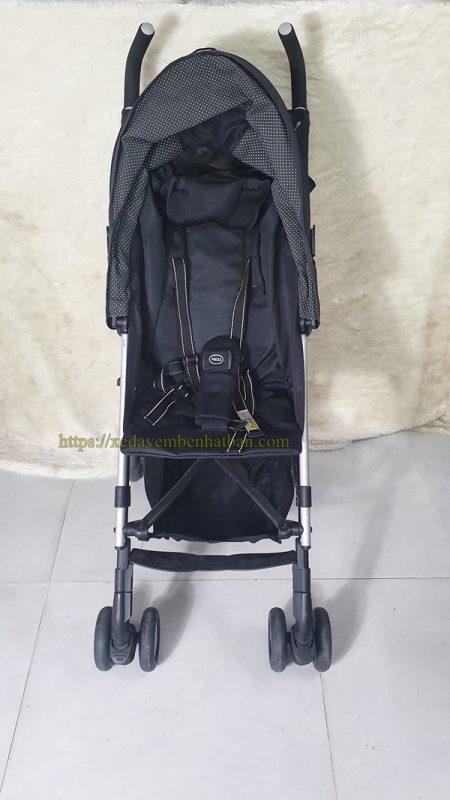 Xe đẩy em bé Aprica Stick thanh lý màu đen đẹp 5
