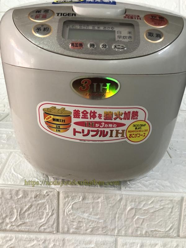 Nồi cơm điện cao tần nội địa Nhật Tiger 1li8 3