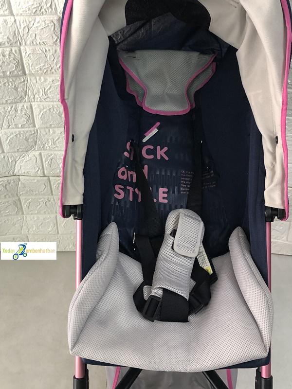 Xe đẩy em bé Aprica Stick Flat thanh lý 7