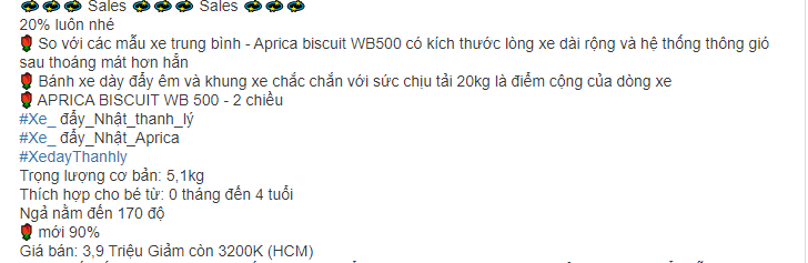 Xe đẩy Aprica Biscuit 3