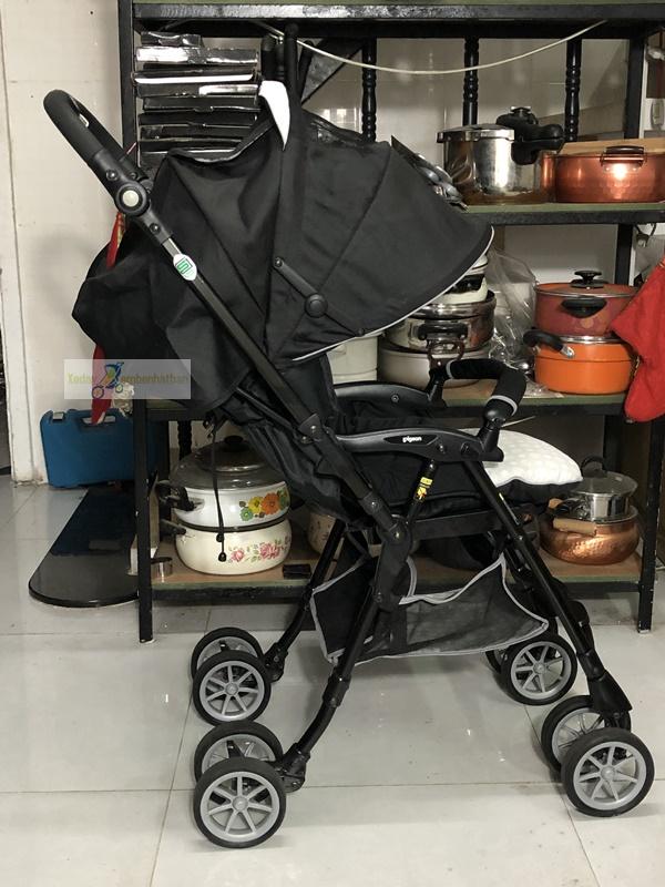 Xe đẩy em bé nội địa Nhật Pigeon thanh lý 3