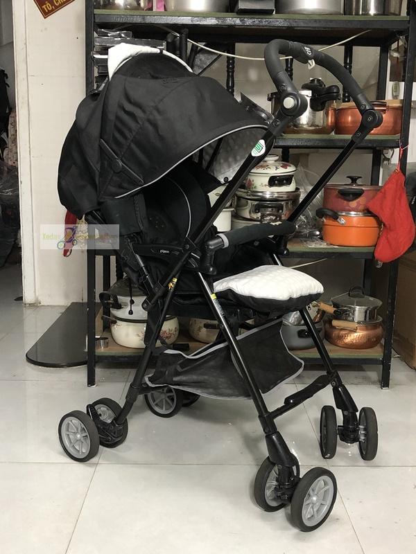 Xe đẩy em bé nội địa Nhật Pigeon thanh lý 4