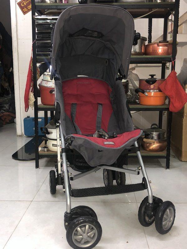 Xe đẩy du lịch Maclaren cho bé nặng cân 1