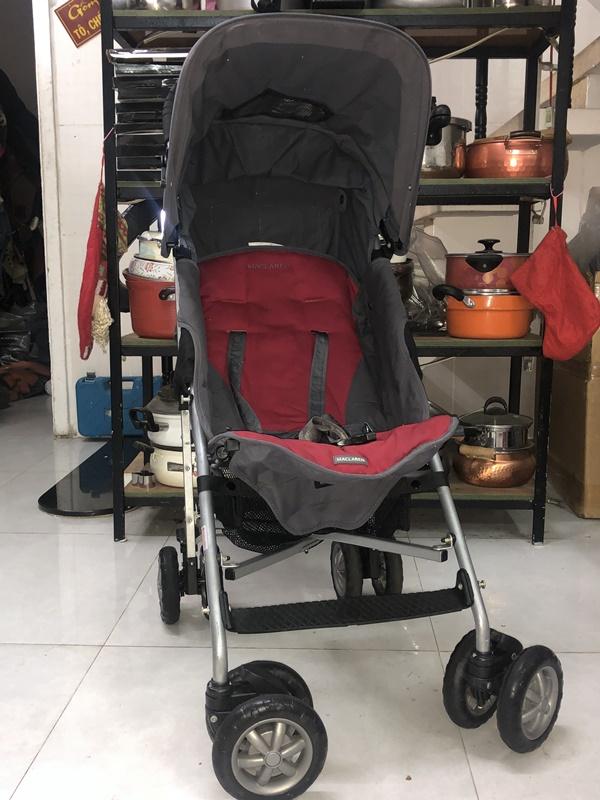 Xe đẩy du lịch Maclaren cho bé nặng cân 6