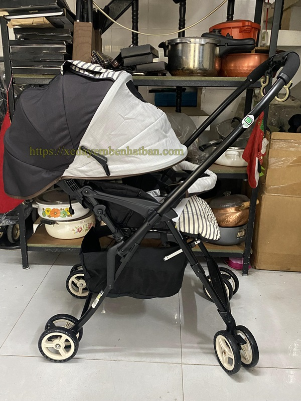 Xe đẩy em bé Combi Mechalcal Handy thanh lý 5