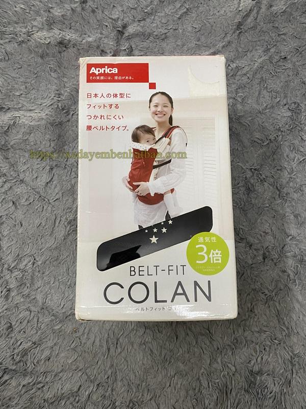 Địu Aprica Colan Bigi đen 3 tư thế thanh lý 2
