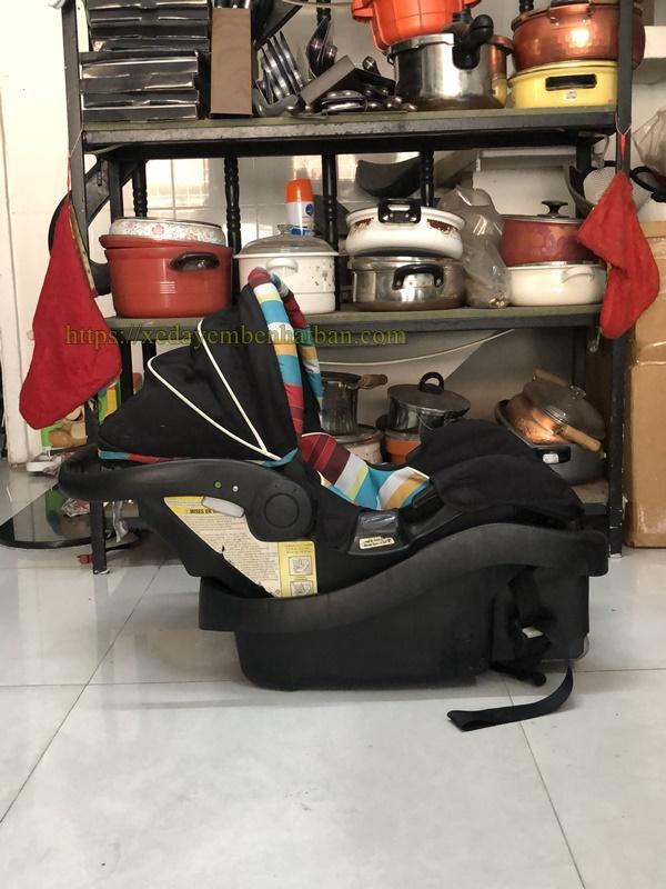 Ghế ngồi ô tô dạng nôi xách Lux 6