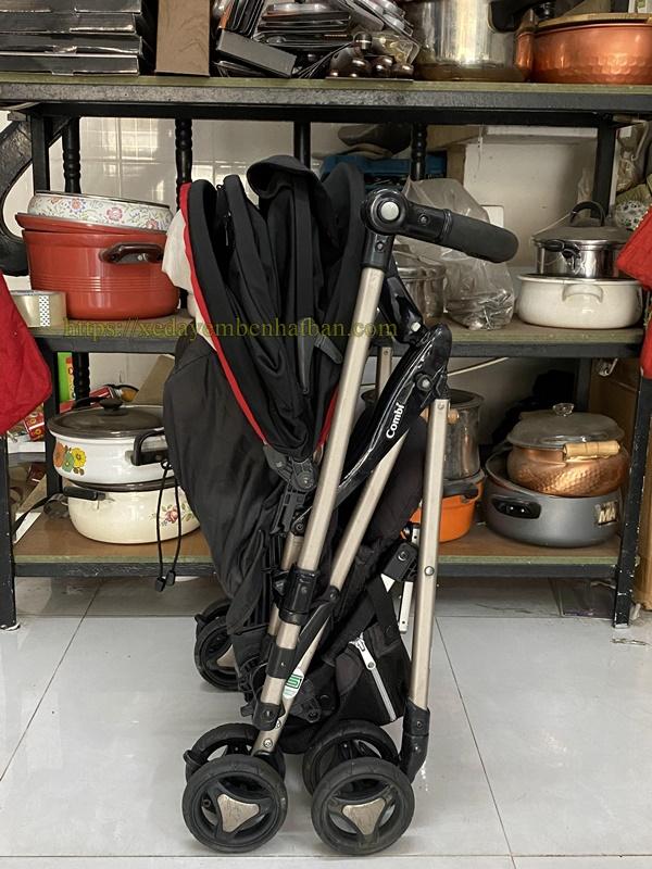 Xe đẩy Combi Ricco W thanh lý 5