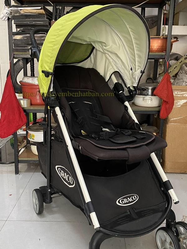 Thanh lý xe đẩy em bé Graco củi du lịch 2
