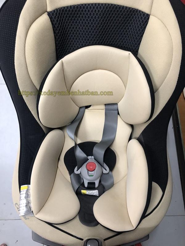 Ghế ngồi oto Combi Zeus Turn Xoay 360 thanh lý 3