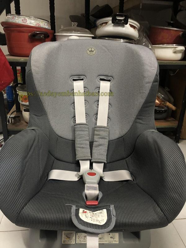 Ghế ngồi ô tô Nhật nội địa cho bé 6