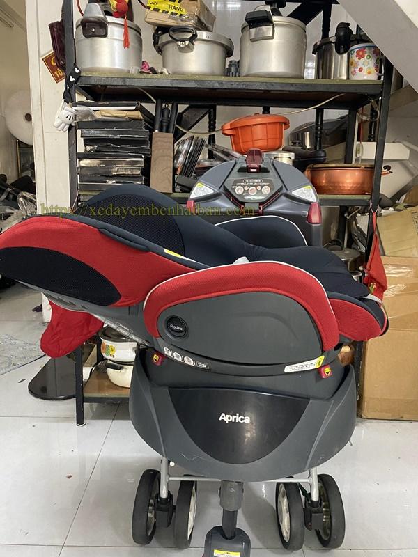 Ghế ngồi oto Aprica 360 độ thanh lý 5