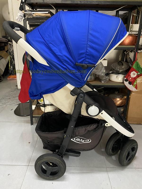 Xe đẩy cho bé nặng cân 1