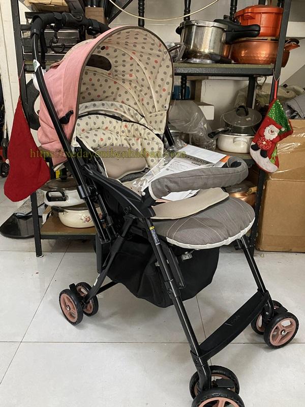 Xe đẩy trẻ em thanh lý Combi Mechacal Handy 3
