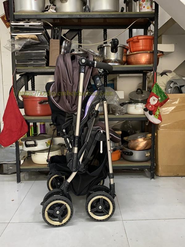 Xe đẩy Combi 4 cas Diaclasse YB600 thanh lý 5