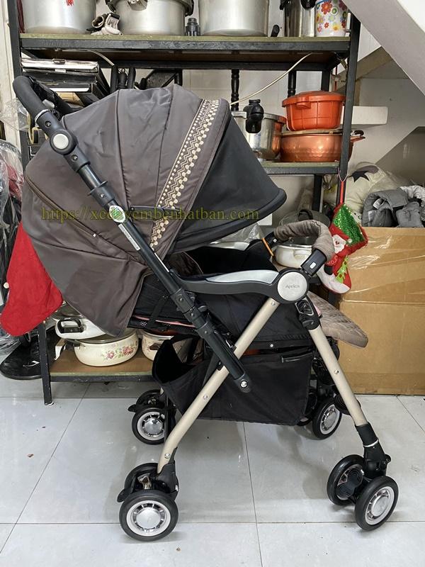 Xe đẩy aprica Soraria premium thanh lý 4
