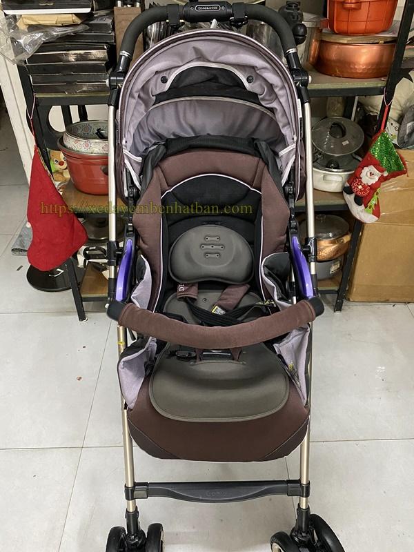 Xe đẩy Combi 4 cas Diaclasse YB600 thanh lý 2